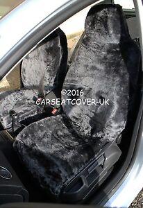 Image Is Loading PLAIN GREY LUXURY FAUX FUR FURRY CAR SEAT