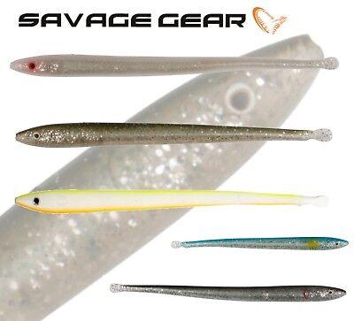Savage Gear Sandeel Slug lure with weedless hooks  kit