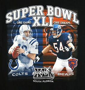 Indianapolis-Colts-Peyton-Manning-2007-SUPER-BOWL-XLI-T-Shirt-LARGE-NFL