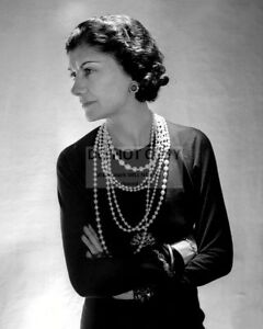 Details about COCO CHANEL FRENCH FASHION DESIGNER , 8X10 PUBLICITY PHOTO  (FB,490)