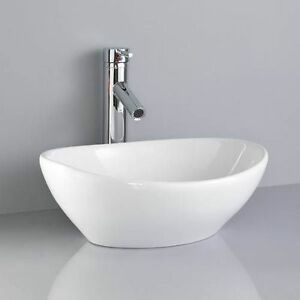 Merveilleux Image Is Loading Compact Small White Mini Oval Counter Top Vanity