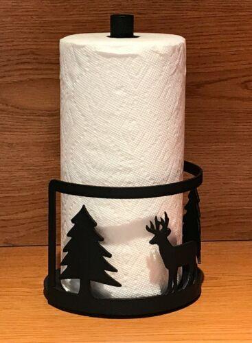 Made in USA Deer Steel Paper Towel Rack