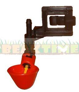 10-CHICKEN-WATER-CUPS-CAGE-BRACKET-New-Drinker-Poultry-Waterer-Fitting-Farm