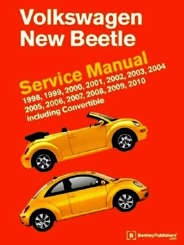 2005 2006 Volkswagen New Beetle Service Manual: 1998 2002 1999 ...