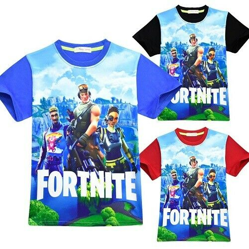 New Boys Kids Gaming Gamer Xbox PS4 Floss Dab T-Shirt Summer Age 7 8 9 10 11 12