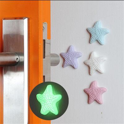 4pcs Silicone Door Handle Knob Crash Pad Wall Protect Self Adhesive Bumper