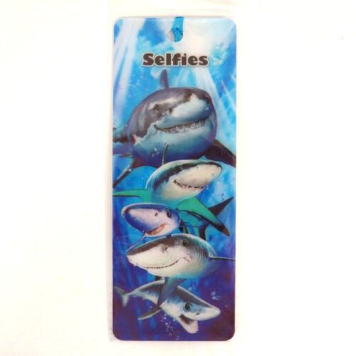 21 Designs Howard Robinson Super 3D Moving Bookmarks Animals /& Animal Selfies