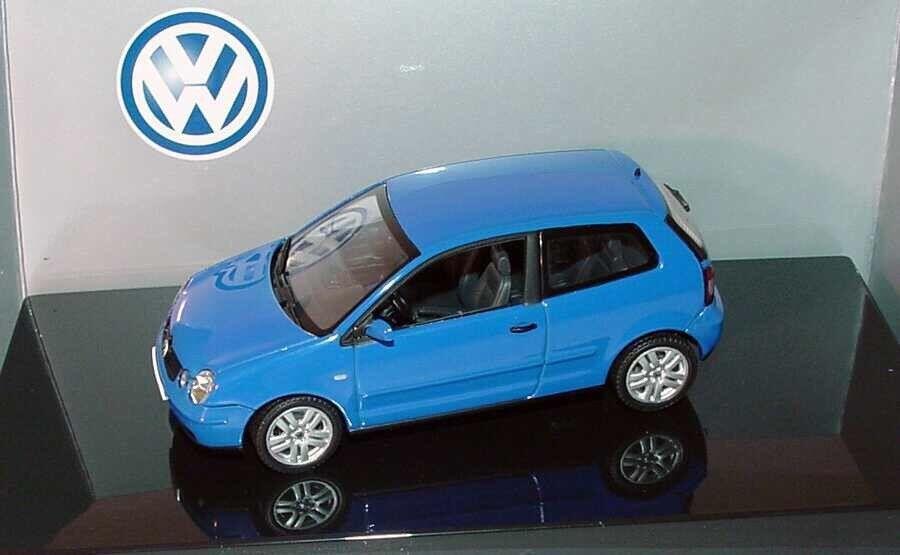 RARE RARE RARE VW Polo 9N IV 2002 SPORT TDI FSI Summer bleu 1 43 Autoart (concessionnaire modèle) a7bb92