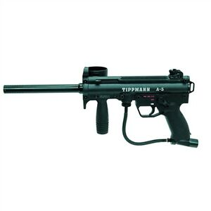 Image Is Loading Tippmann A5 With E Grip Paintball Marker