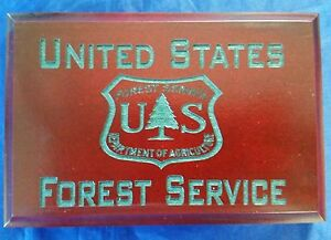 Image Is Loading Usfs Forest Service Dept Of Agriculture Cherry Walnut