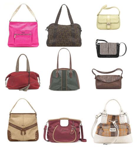 Posten 10 Stck. TAMARIS Marken Damen Handtaschen Lagerräumung NEUWARE