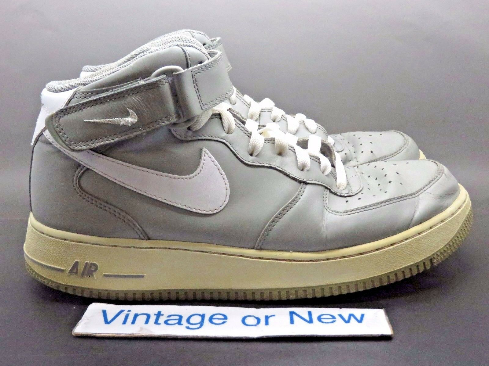 Nike Air Force 1 Mid '07 Medium Grey White 315123-007 Price reduction
