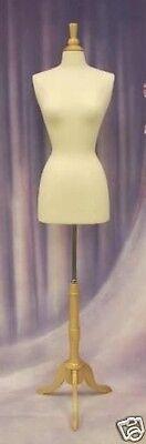 Female Size 2-4 Mannequin Manikin Dress Form #F2/4W+BS-01NX