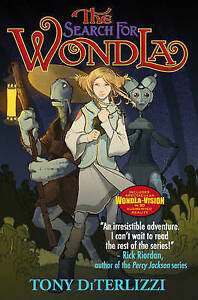 DiTerlizzi-Tony-The-Search-for-WondLa-Search-for-Wondla-Paperback-Paperba