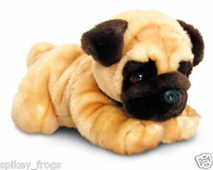 "*NEW* PUG ""REGGIE"" PUPPY DOG PET SOFT PLUSH STUFFED ANIMAL TOY 30cm/12inch"