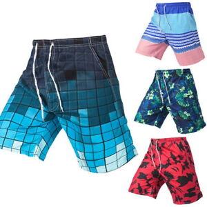 Hommes-Mode-Shorts-Lache-Casual-Shorts-de-plage-Boardshort-Cargo-Shorts-Trunks