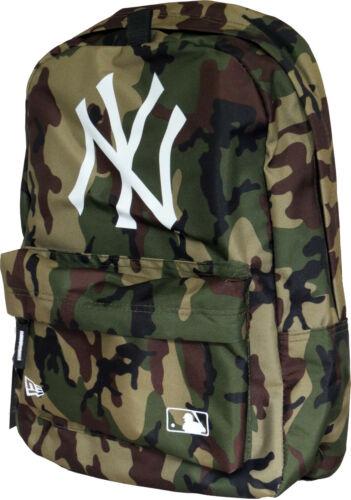 NY Yankees New Era MLB Woodland Camo Stadium Backpack