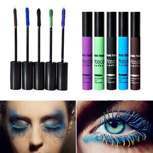 Volumen-Rimel-azul-purpura-Marron-Degradado-Mascara-de-Pestanas-5-Color