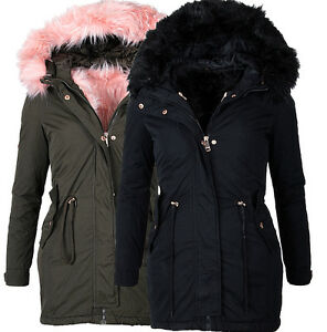 Anonymous & Famous Ladies very warm winter jacket 2 in 1 Parka Coat Cozy Lining
