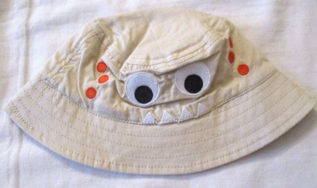The Children s Place Monster Bucket Hat Boys Size 0-6 months New 7dfba879885