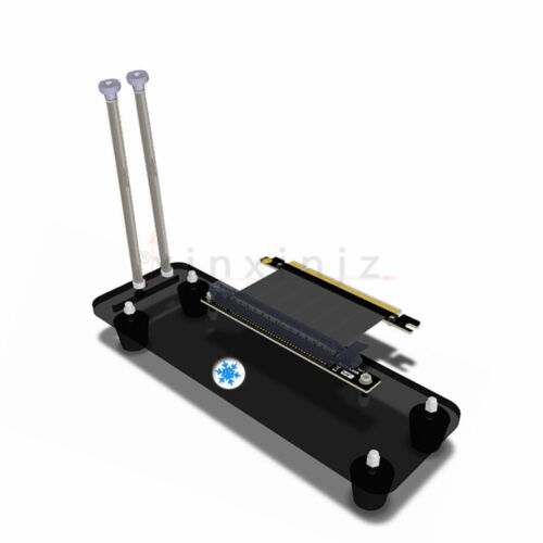 PCI E 3.0 16X Graphics Card vertical kickstand//base with cable for DIY  ATX cas