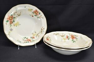 Mikasa Capistrano Heritage F2010 Set of 3 Round Vegetable Bowls