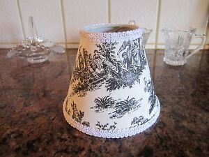 Jamestown Black Amp White French Country Toile Pastoral Lamp