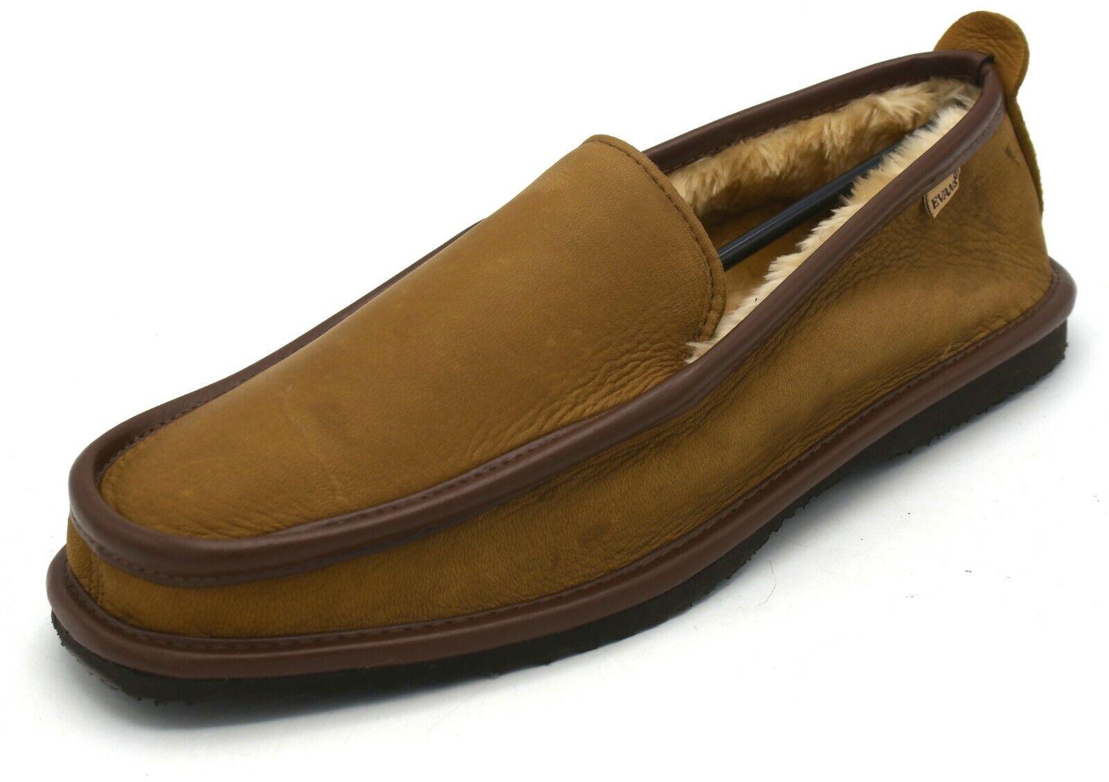 J8391 New Men's L.B. Evans Imperial Deer Mocha Brown Loafer 12 EEE