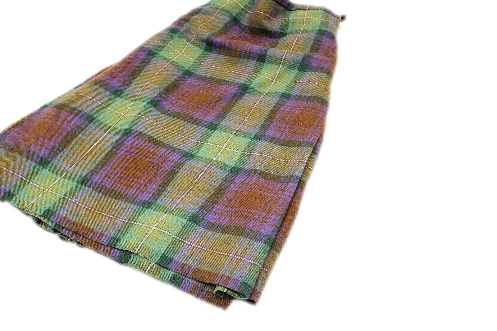 Isle of SKye 5 Yard 100% Wool Kilt Made in Scotland 26/23 & 26/26 only