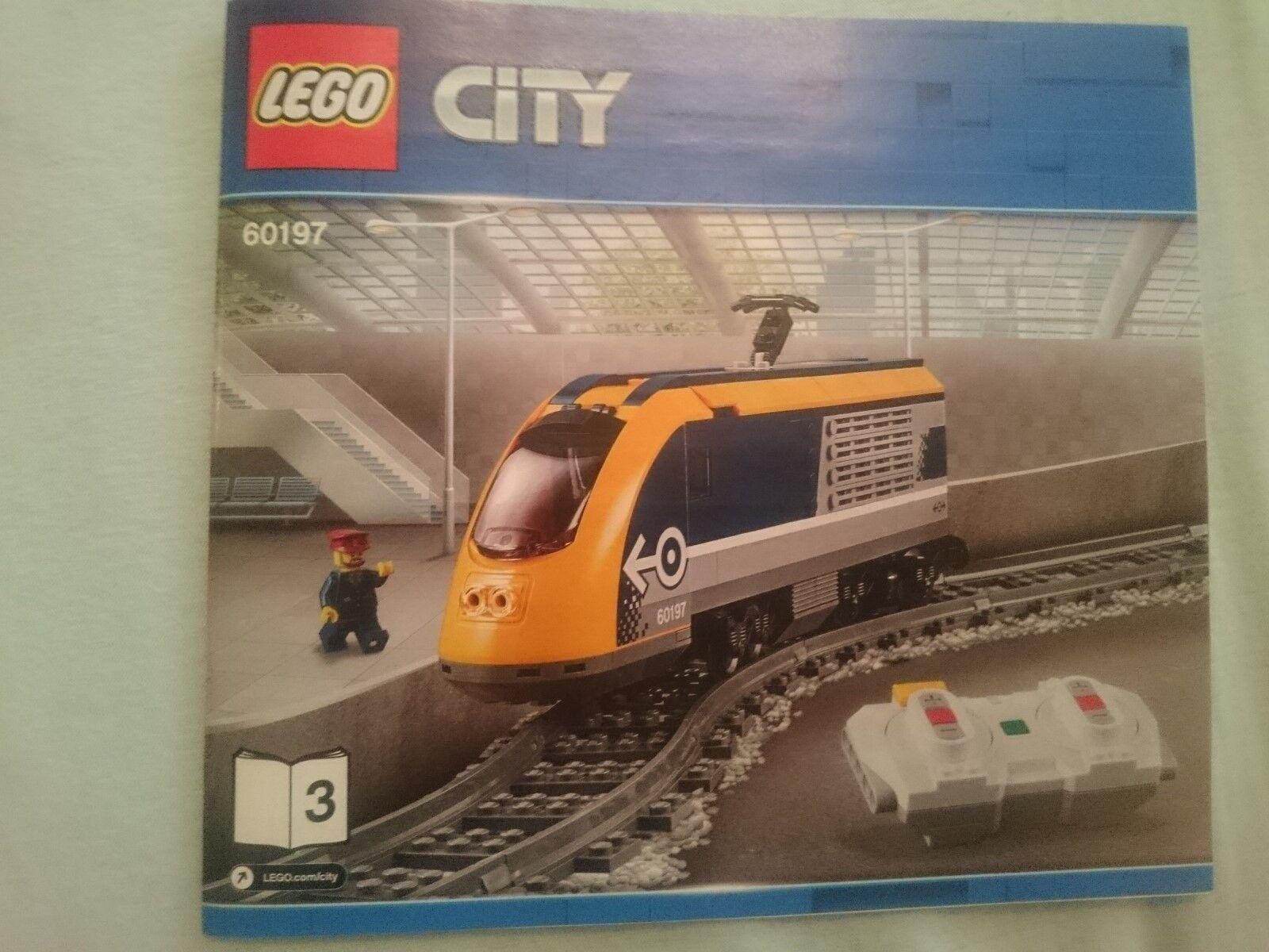 LEGO  City Eisenbahn Lok aus 60197 inkl. Powerot Up NEU