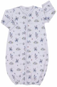 Kissy Kissy Baby-boys Infant King Of The Castle Print Convertible Gown Baby & Toddler Clothing 25a