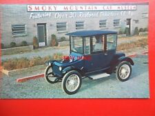 POSTCARD SMOKY MOUNTAIN CAR MUSEUM - 1917 DETRIOT ELECTRIC MODEL 68