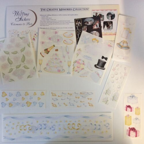NEW Creative Memories WEDDING STICKERS PACK