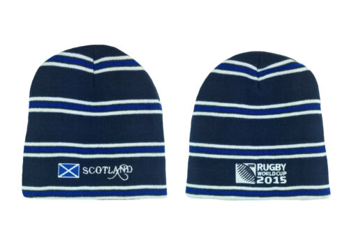 Official SCOTLAND Beanie Hat Rugby Union MENS Knitted Hats gift football