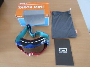 Spy-Skibrille-Targa-Mini-Party-Sharks-Bronze-W-Silver-Mirror-310809610964