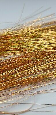 Fly Tying Materials Buzzers Lures Hank Green Fine Green Holographic Tinsel