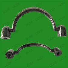 1x 62mm Minimalist Metal Drop Handle Cabinet Door Kitchen Cupboard Desk Drawer