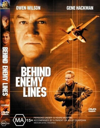 1 of 1 - Behind Enemy Lines - NEW+SEALED DVD movie - fast free post