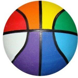 Gay Pride Rainbow Basketball Regulation Size | eBay