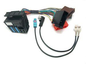 AUDI-RNS-E-Adapter-Kit-P-amp-P-QUADLOCK-Diversity-Antenna-Adapter-FAKRA-A3-A4-A6