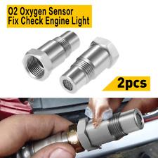 Car Cel Fix Check Engine Light Eliminator Adapter M18x15mm Oxygen 02 Sensor O2 Fits 2002 Mitsubishi Eclipse