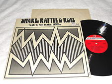 """""""Shake,Rattle&Roll-in the 1950's"""" 1978 Rock LP,VG+,New World,Various-See Listing"""