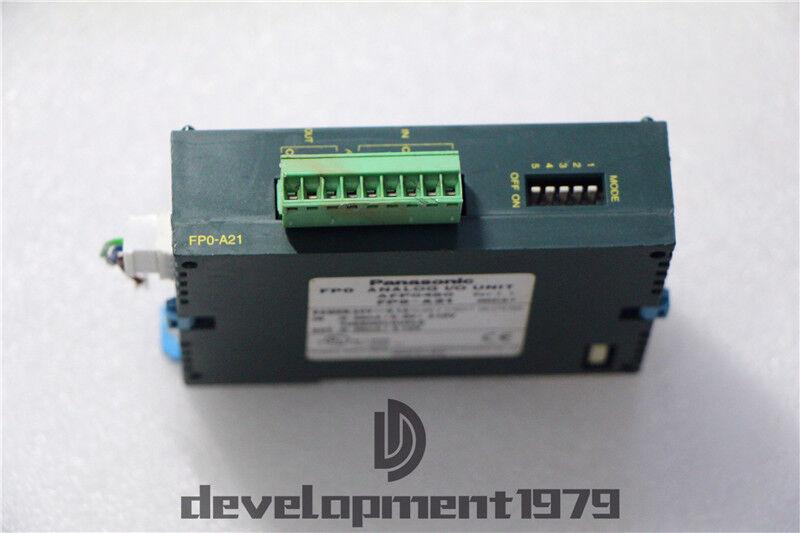 1PC FP0-A21 FPO-A21 MATSUSHITA Analog module AFP0480 USED tested