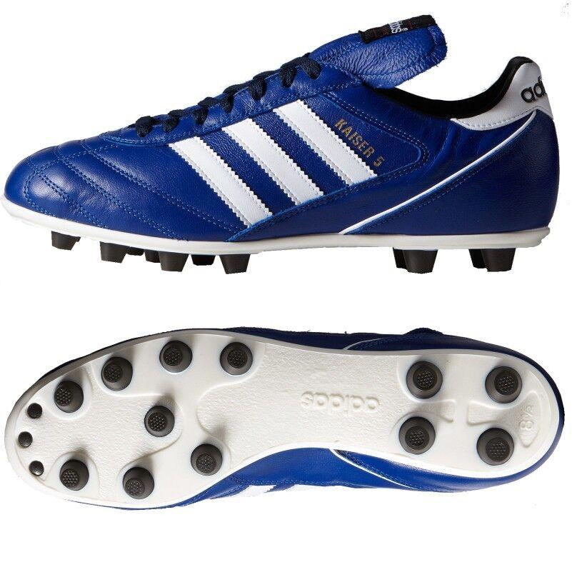 Adidas Kaiser 5 5 5 Liga Sonderfarbe blau weiß schwarz 111d55