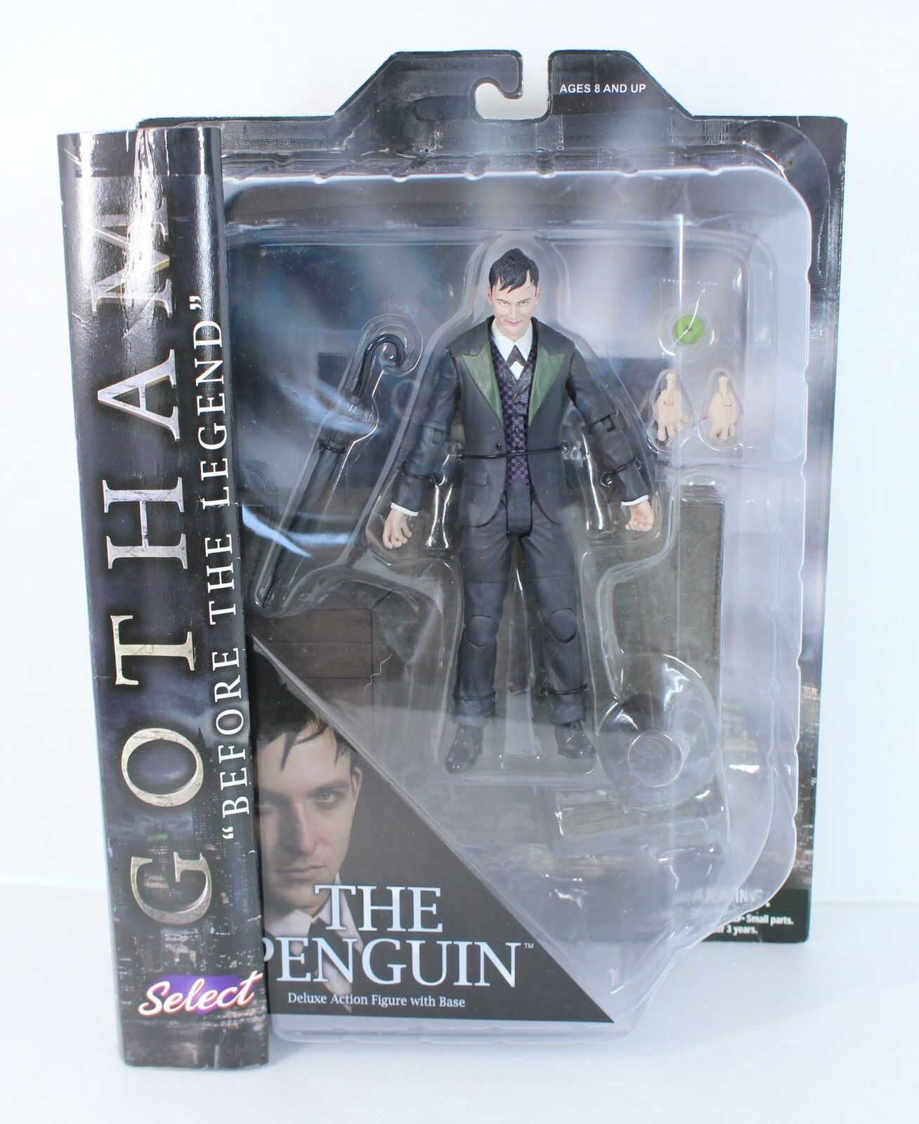 2015 Gotham Select  The Penguin Action Figure Diamond Select Toys from japan