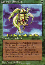 Lebendes Artefakt (Living Artifact) Magic limited black bordered german beta fbb