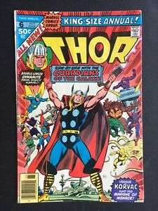 The-Mighty-Thor-King-Size-Annual-6-Marvel-Bronze-Guardians-Of-The-Galaxy-Korvac
