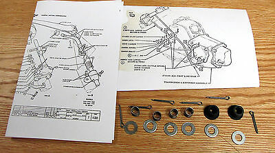 CHEVY TRUCK 55-59 ORIGINAL STEERING SHIFTER ARM LINK