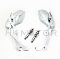 Chrome Custom Motorcycle Parts-rear View Mirrors For Harley Davidson Sportster R