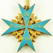 "WW Germany Military Collection Cross of Valor ""Pour le Mérite"" COPY"